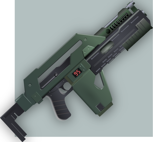 M41a Pulse Rifle by Seothen