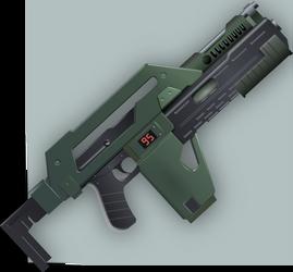 M41a Pulse Rifle by Seothen