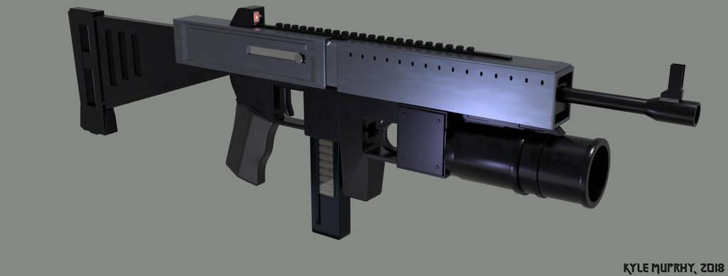 Tommy Gun Updated - 3D Model by Seothen