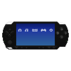 PSP in the Pixels (w/menu items) by gfball84887