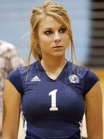Hot volleyball player by andyhsu666666