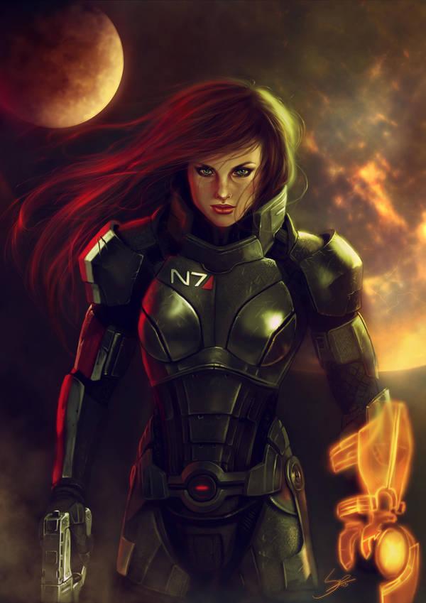 - Commander Shepard - by Anathematixs