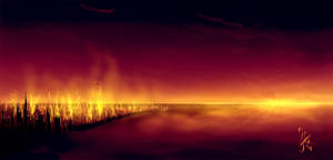 - Apocalypse Dawn speedpaint- by Anathematixs