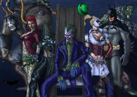 Batman Arkham Asylum by Darthval