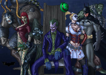 Batman Arkham Asylum by Darthval