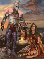 Bearer of the Curse - Dark Souls II by Darthval