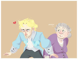 In Which Howl Saves Sophie by HumorlessPoppycock