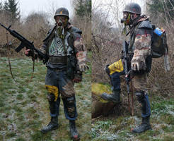 Post Apocalyptic Mercenary 06 by BaLLz-Graphics
