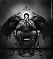 Castiel by A-Anthony