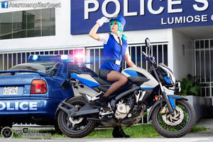 Police's Bike by DarkTifaStrife