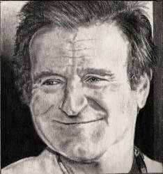 Robin Williams by silenthero1