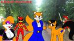 Katrien, Megamink, Stephen Fox, Artie And Razor by Megamink1997