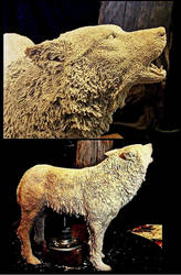 Sculpting Process by Wood-Splitter-Lee