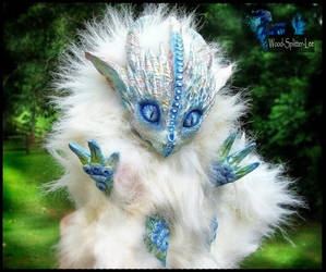 -SOLD- Posable Ice Dragon by Wood-Splitter-Lee