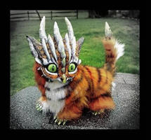 -SOLD-Posable Tiger Dragon by Wood-Splitter-Lee