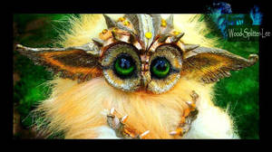 -SOLD-Posable Baby Owlet by Wood-Splitter-Lee