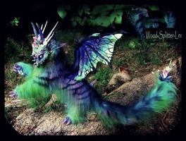 -SOLD-Majestic  Winged Dragon by Wood-Splitter-Lee