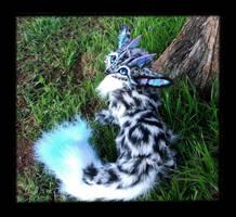 -SOLD-Posable Dragon Fox by Wood-Splitter-Lee