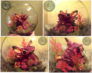 SOLD Hand Made Fantasy Creature Pet! by Wood-Splitter-Lee