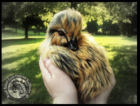 SOLD HAND MADE Poseable Baby Duckling! by Wood-Splitter-Lee
