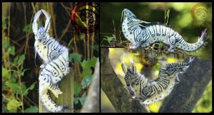 SOLD Caterpillar Dragon by Wood-Splitter-Lee