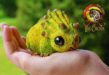 Baby Banana Triceratops Sold by Wood-Splitter-Lee