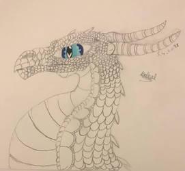 Petit dragon  au crayon ^^   by MR-R13