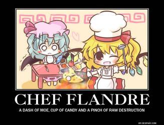Poster: Chef Flandre by Darkmuraden