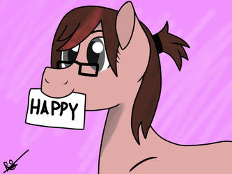 Happy Pone by JohnnyHorse