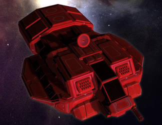 Hasker Combat Shuttle by MADMANMIKE
