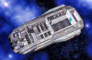 Standard Mercantile - Launch Cutaway Interior by MADMANMIKE