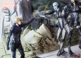 Farewell and into the inevitable by Rukiisuta
