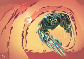KING OWL by MixeRBink