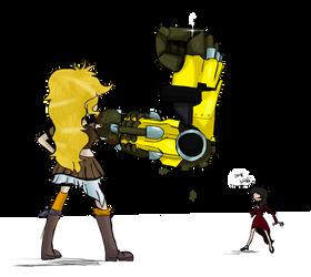 Armed and Dangerous by OrganicGranite