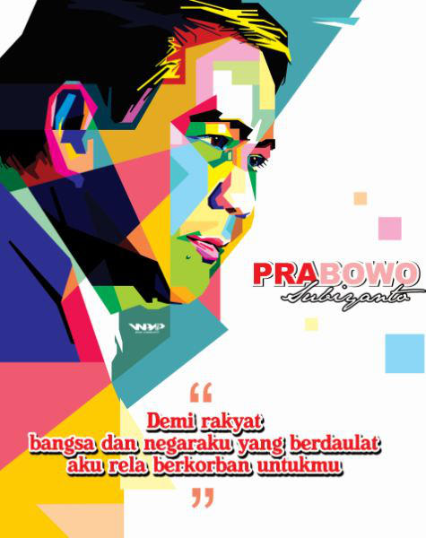 Prabowo WPAP by opparudy