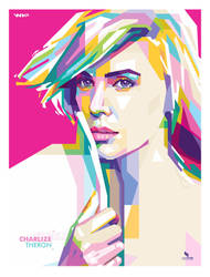 Charlize Theron WPAP by opparudy
