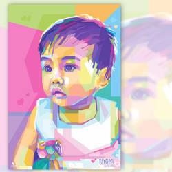 Cute Kid on WPAP by opparudy