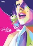 Marilyn Monroe - POP ART by opparudy