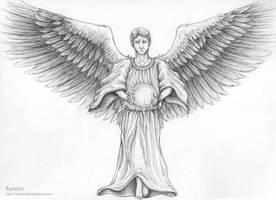 Guardian angel by RoadCamelott