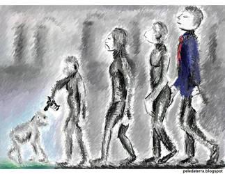 Evolucionismo by Pele-da-terra