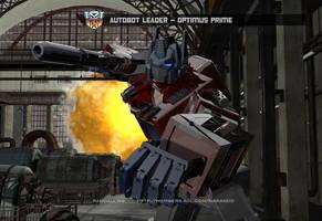 Optimus Prime G1 Wallpaper by rando3d
