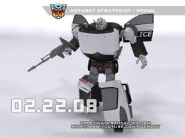 Transformers Prowl 3D by rando3d