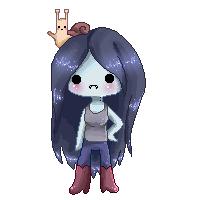 Marceline Pixel by Ettesore
