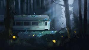 Night Train by mwolski