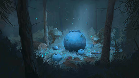 The Blueberry King by mwolski