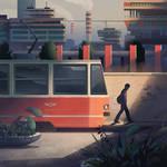 Tram by mwolski