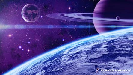 Fermi's Paradox by Redwoodjedi