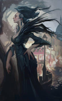 Stingray Sorceress by AudreyBenjaminsen