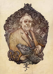 JRR Tolkien by AudreyBenjaminsen