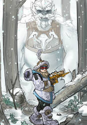 Mei the Yeti Hunter by TarikHavoc